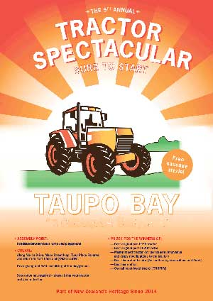 Taupo Bay Tractor Spectacular
